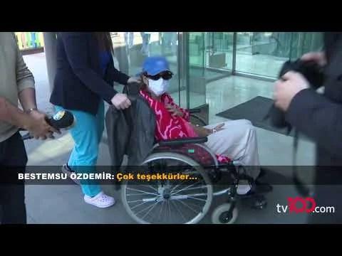 Bestemsu Özdemir tekerlekli sandalyede… Hastanelik oldu