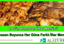 6 Gun Ramazan Iftar Menusu