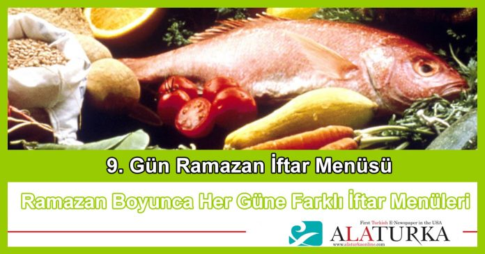 9 Gun Ramazan Iftar Menusu
