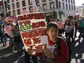 Arizona'da göçmenler rahat soluk aldı