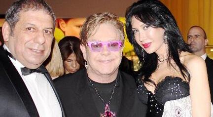 Erman Toroğlu, Elton John'un Geleneksel Oscar Yemeğine Katıldı