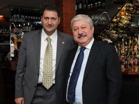 Antalya Belediye Başkanı Akayadın New York'ta