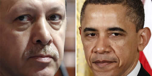 Başkan Obama, Başbakan Erdoğan ile telefon görüşmesi yaptı