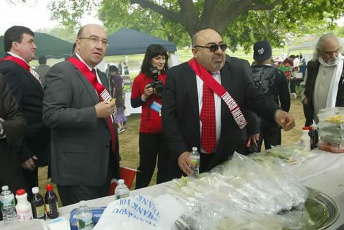 New Jersey'de Türk yürüyüşü