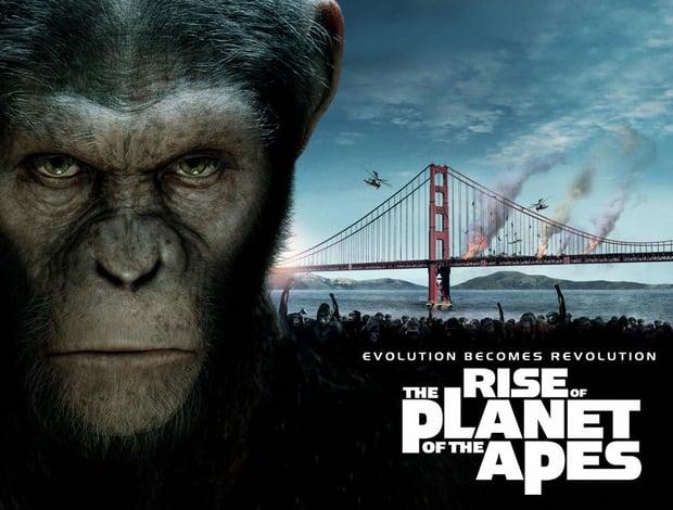 Maymunlar gişenin zirvesinde