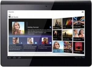 Sony ilk tabletlerini duyurdu