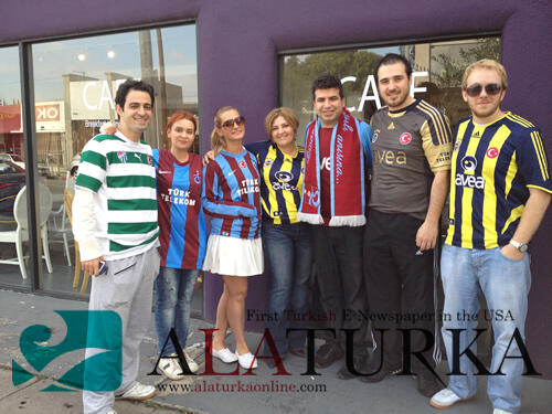 Los Angeles'ta Fenerbahçe Trabzonspor Maçını Dostluk Kazandı