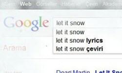 Google'dan kış sürprizi