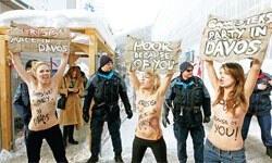 Gangsterler Davos'ta partide