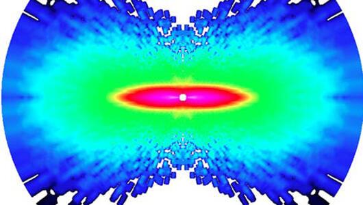Molekülün içindeki atomların fotoğrafı çekildi