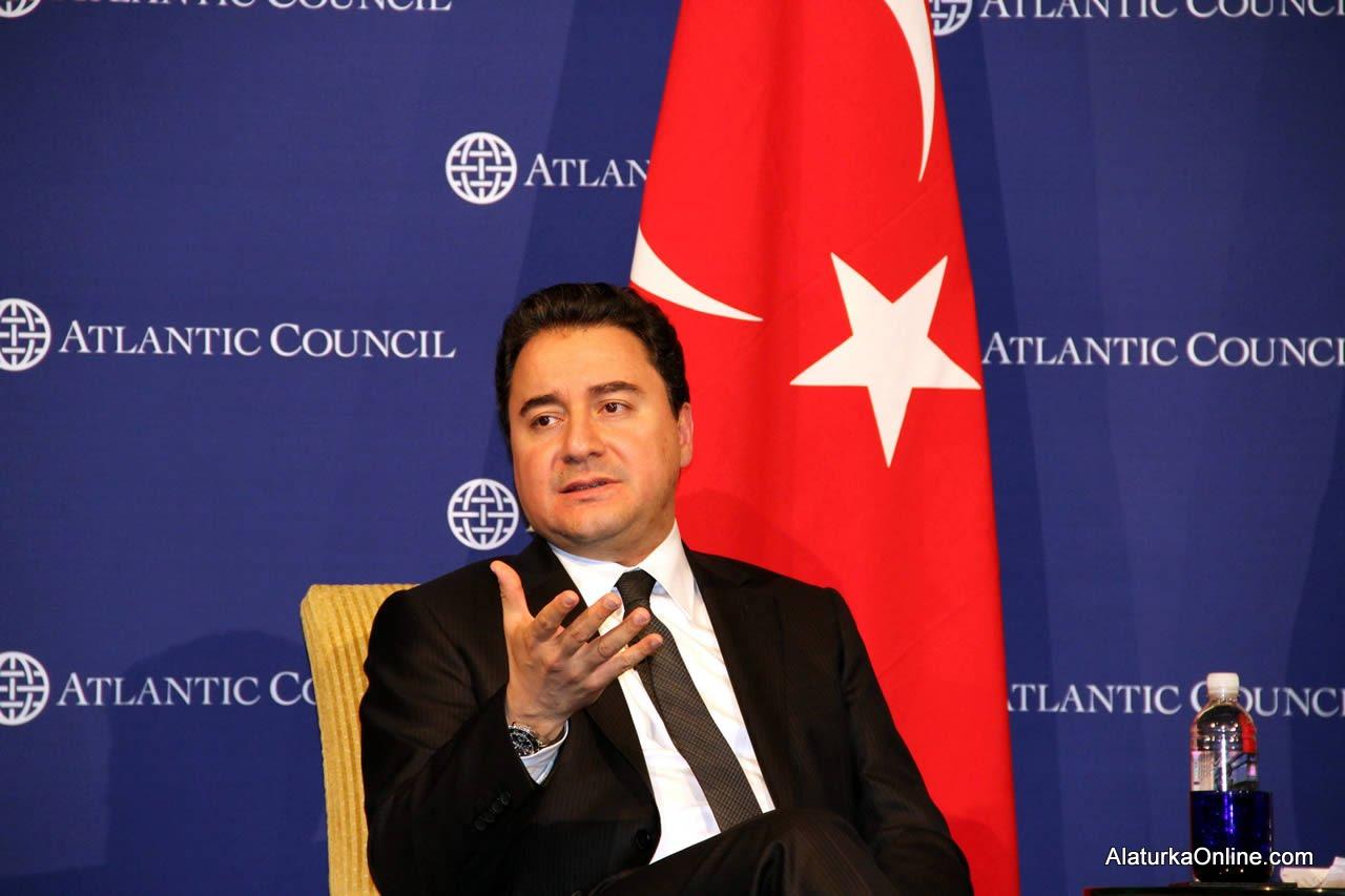 Başbakan Yardımcısı Ali Babacan Washington'da konuştu