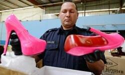 ABD'de 20457 çift 'kırmızı tabanlı' Çin malı ayakkabı ele geçirildi
