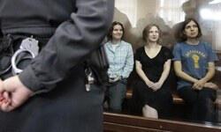 Rusya'nın asi kızları ikişer yıl hapis yatacak