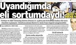 Tacizci kaçamaz Ankara aleyhine yazıları var