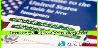Green Card Cekilisi Diversity Visa Lottery Nedir