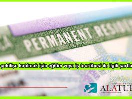 Green Card Egitim Is Tecrubesi
