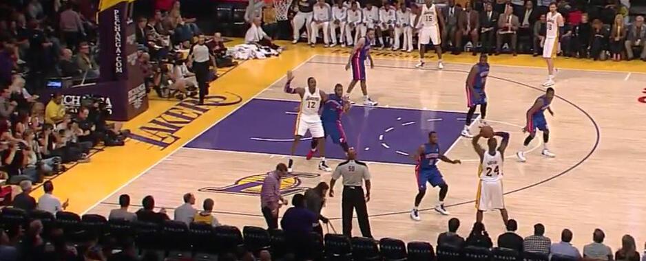 Lakers'ın yüzü sonunda güldü