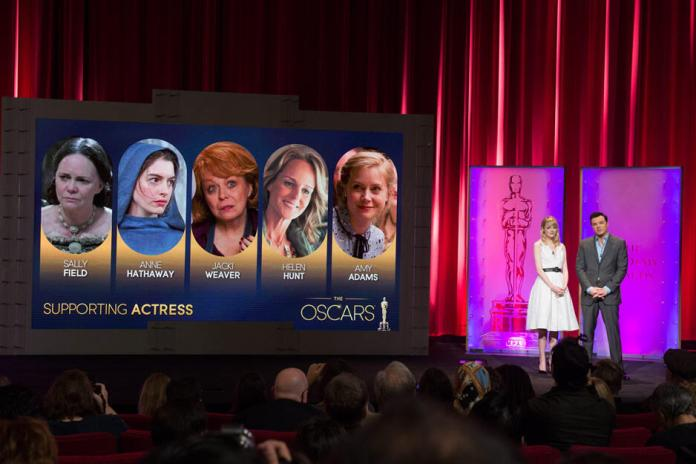Supporting Actress - 85th Academy Awards -Oscars