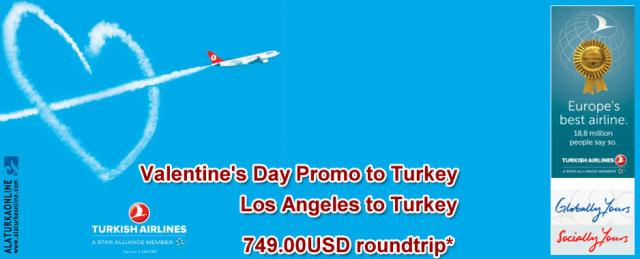 Valentines Day Promo to Turkey Turkish Airlines