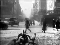 1920'lerin New York'u bir itfaiye aracının kamerasında