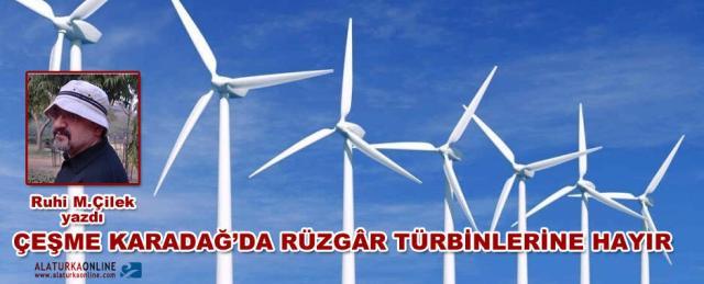cesme karadag ruzgar turbinleri