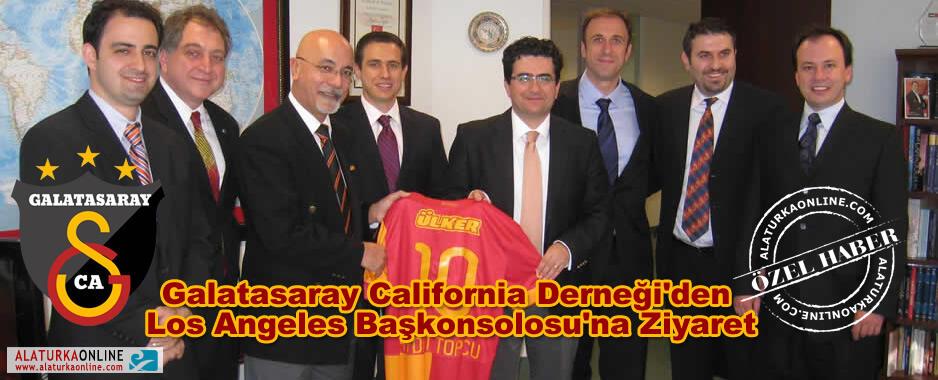 Galatasaray California Derneğinden Los Angeles Başkonsolosu'na Ziyaret