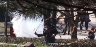 Hacettepe Universitesinde PKK Yandaslari Sehitler Gununu Engellemek Istedi