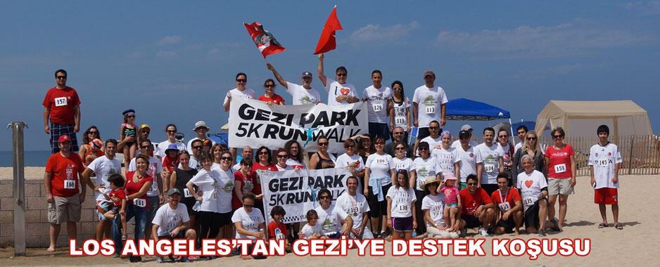 Los Angeles'tan Gezi'ye Destek Bitmiyor