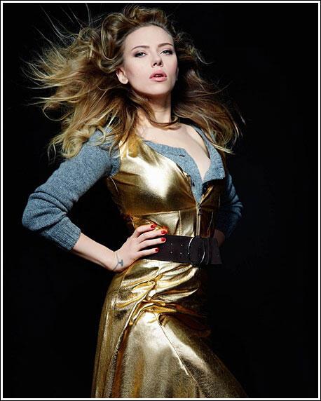 "Modern Marilyn "" Scarlett Johansson """