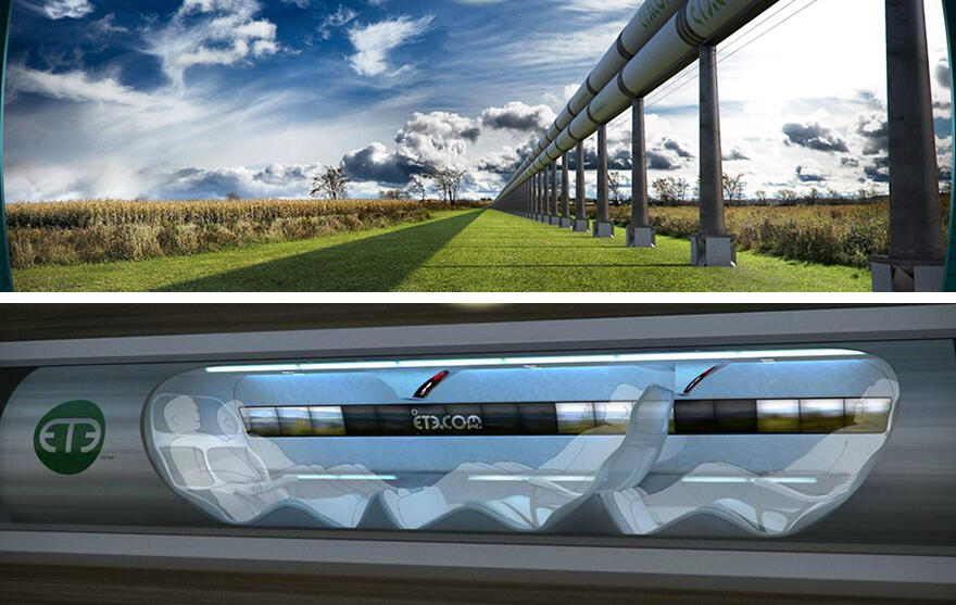 Los Angeles, New York Hyperloop'la 45 dakika