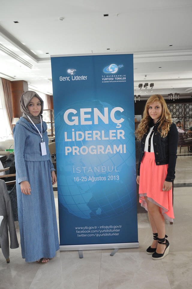 Yurtdışı Genç Liderler Toplantısı İstanbul'da Başladı