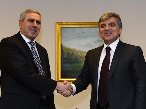 Gül, Irak Cumhurbaşkanı Yardımcısı Huzai'yi kabul etti