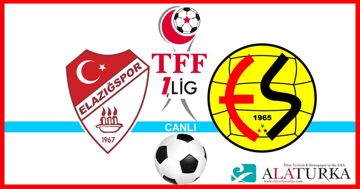Elazığspor – Eskişehirspor maçını canlı izle