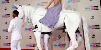 lady gaga horse