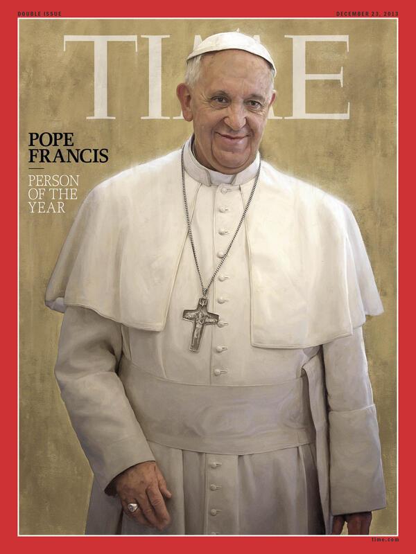 TIME, Papa Francesco'u yılın kişisi seçti