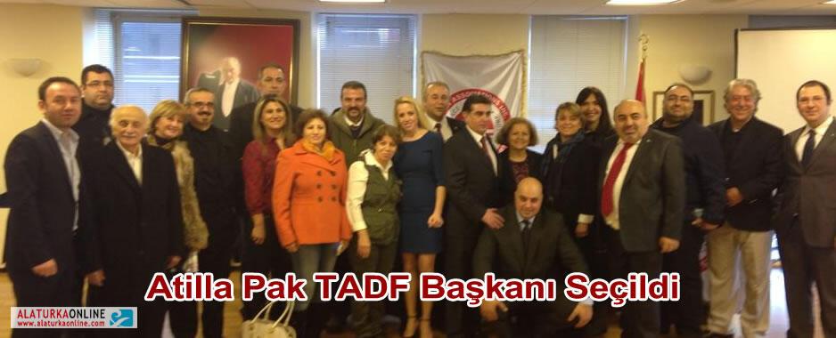 Atilla Pak TADF Başkanı Seçildi