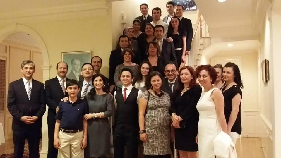 Başkonsolos Batu'dan Türk Öğrenci ve Akademisyenlere Resepsiyon