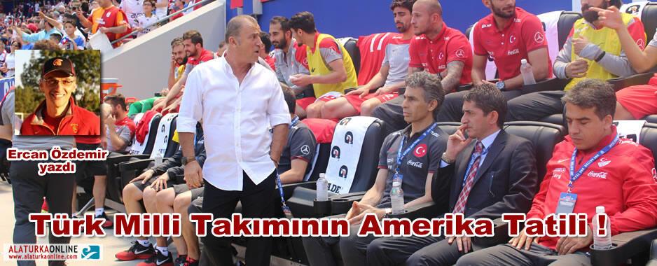 Türk Milli Takımının Amerika Tatili !