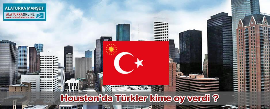 Houston'da Türkler kime oy verdi ?