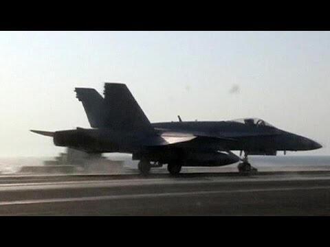 Amerika IŞİD'i ilk kez Suriye'de vurdu