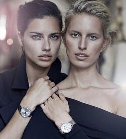 Adriana Lima ve Karolina Kurkova IWC kampanyasında