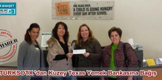 Turkish Society of Texas TURKSOTX Texas Yemek Bankasi Bagis