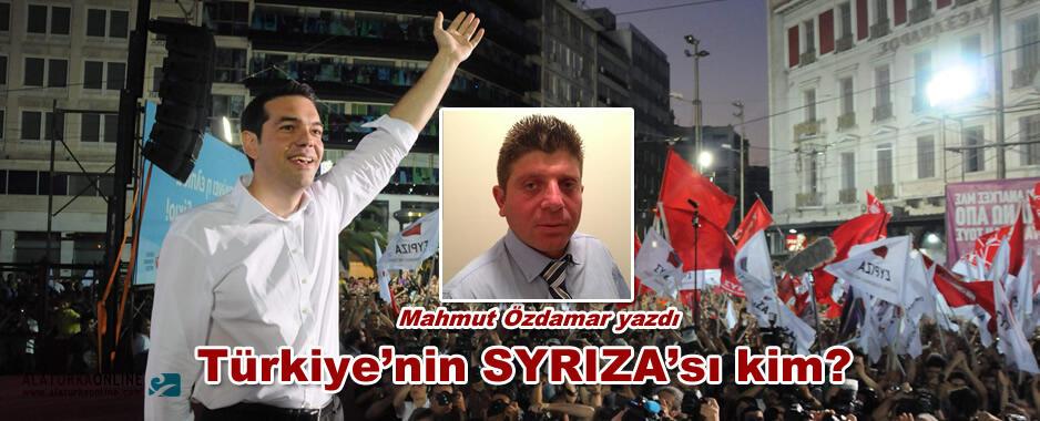 Türkiye'nin SYRIZA'sı kim?
