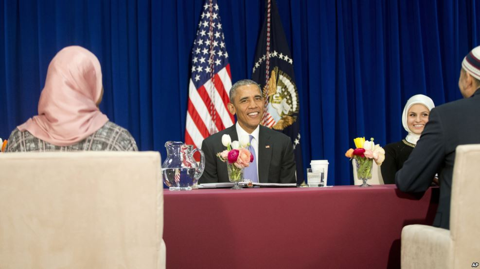 Obama'dan İlk Cami Ziyareti