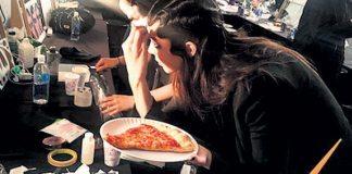Kendall Jenner Defileden once Pizza