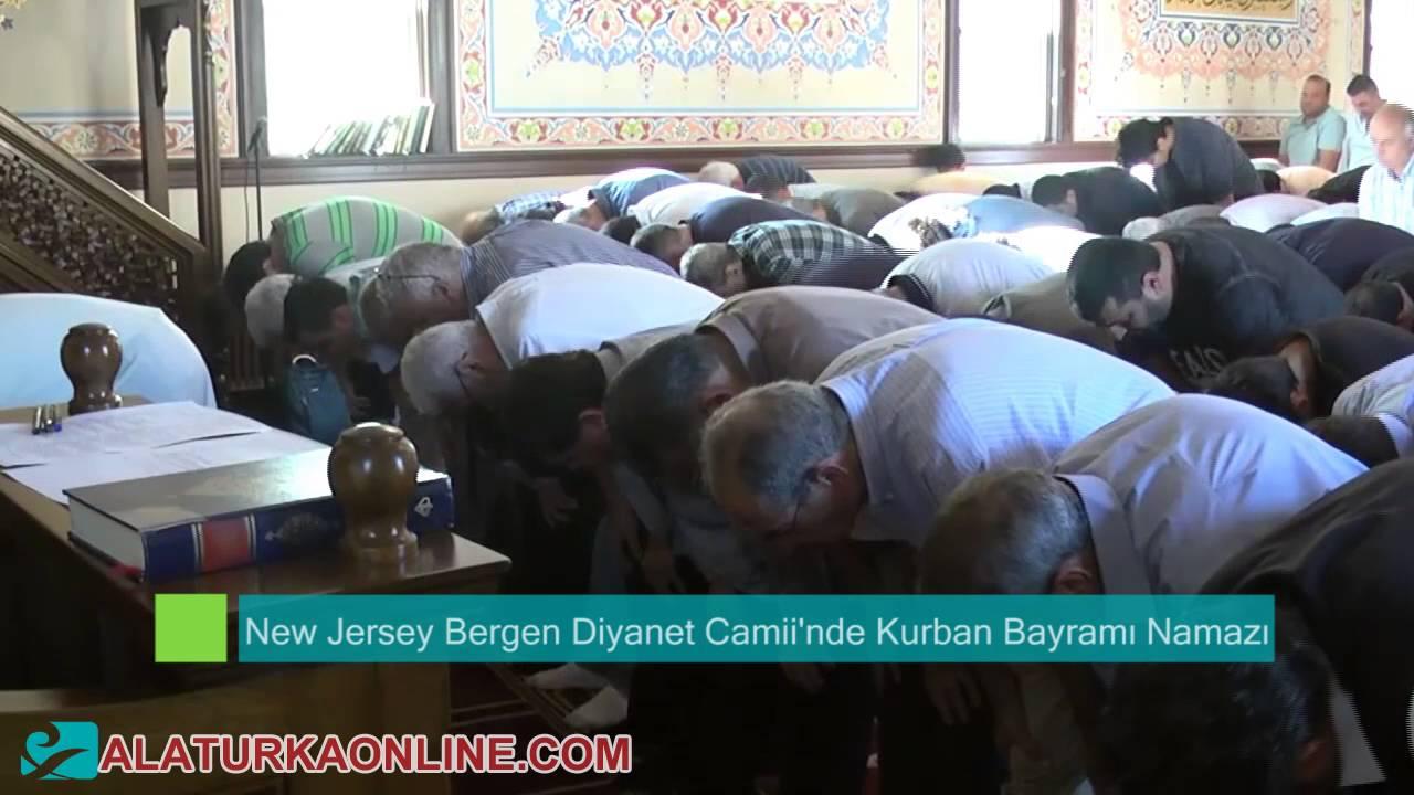New Jersey Bergen Diyanet Camii'nde Kurban Bayramı Namazı ve Programı Düzenlendi