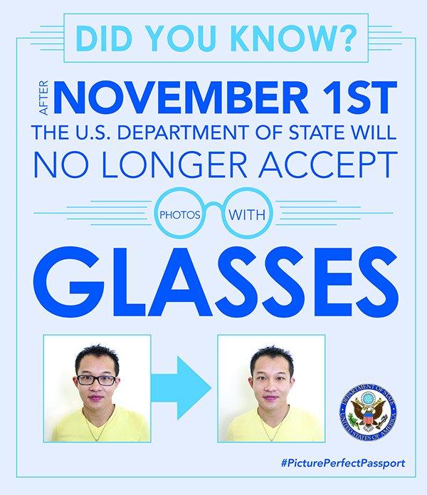 ABD pasaport ve vizesine gözlüksüz fotoğraf zorunluluğu