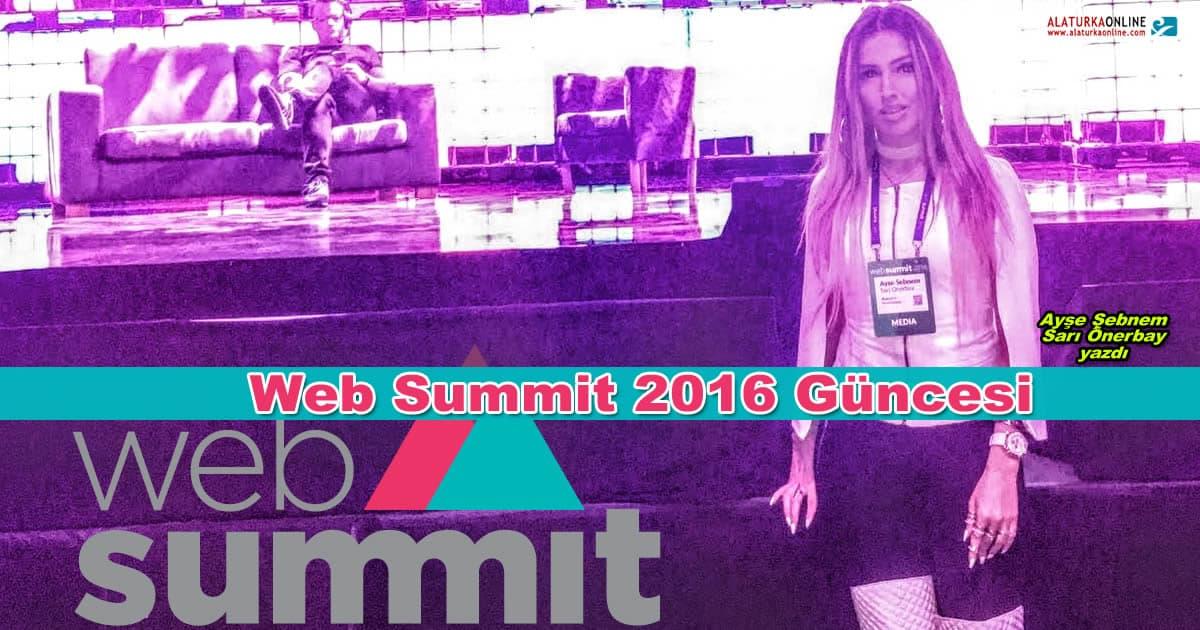 Web Summit 2016 Güncesi