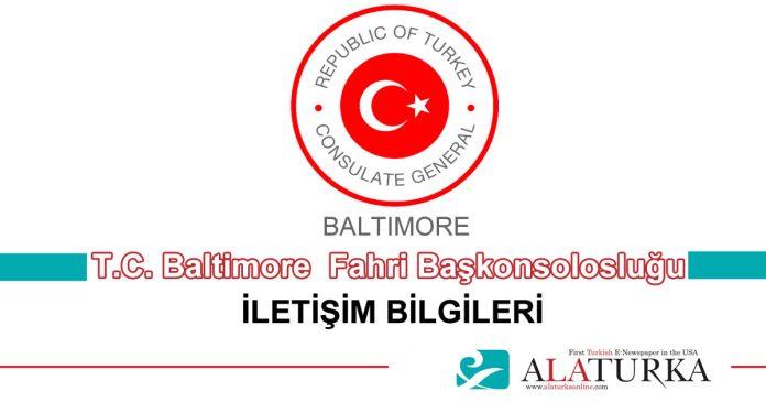 Baltimore Fahri Baskonsoloslugu Illetisim Bilgileri