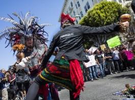 Chicago Irkcilik ve Nefrete Karsi Protesto